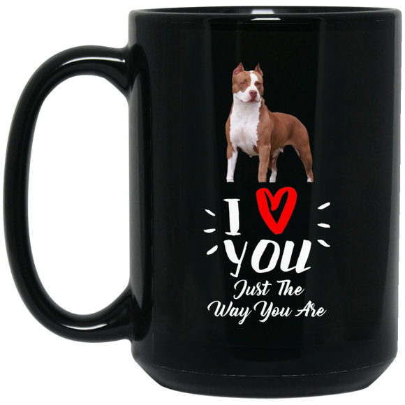 Limited Edition I Love You Just the Way You Are (Red Heart) 15 Oz.