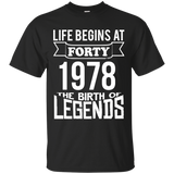 Life Begins at 40! The Birth of Legends!