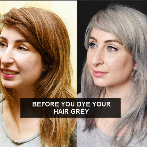 How To Dye Dark Hair Silver Frontrow Frontrow