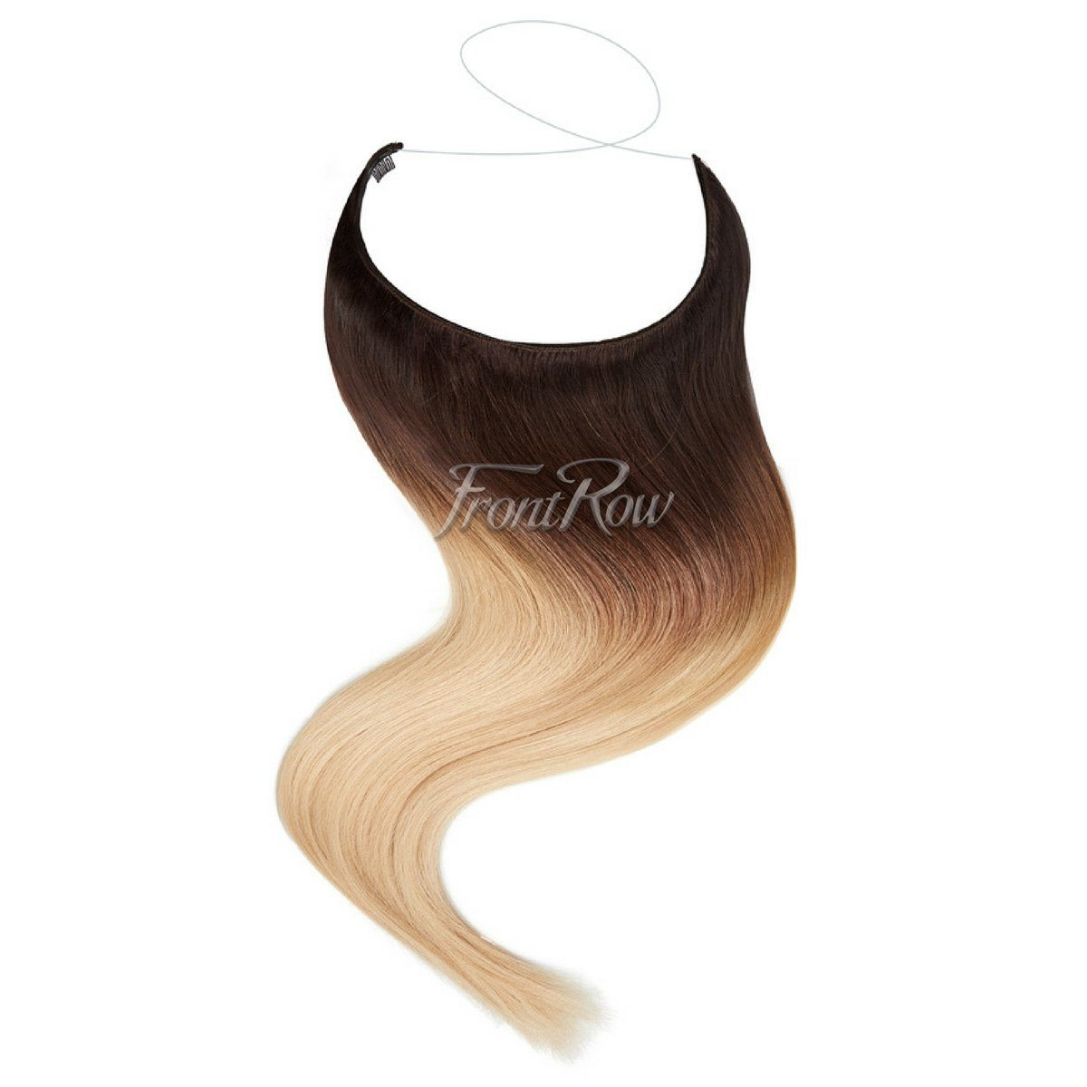 Halo hair extensions in south africa frontrow frontrowza double take 18inch ombre halo hair extensions baditri Image collections