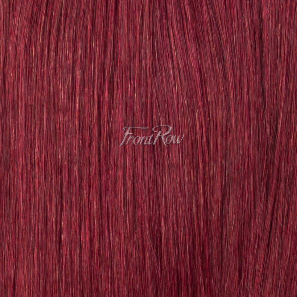 Deep Red 20inch Tapered Ends Clip-ins