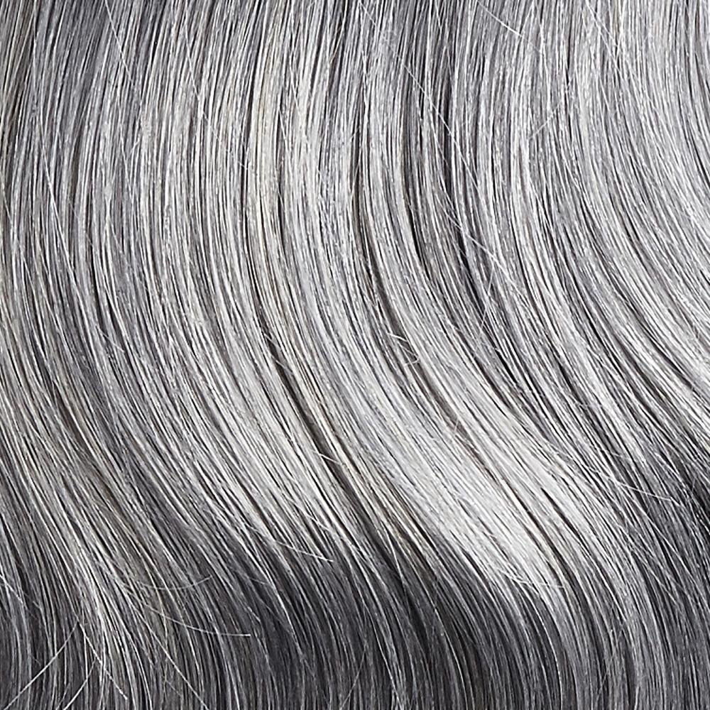 Silver 20inch Tapered Ends Clip-ins