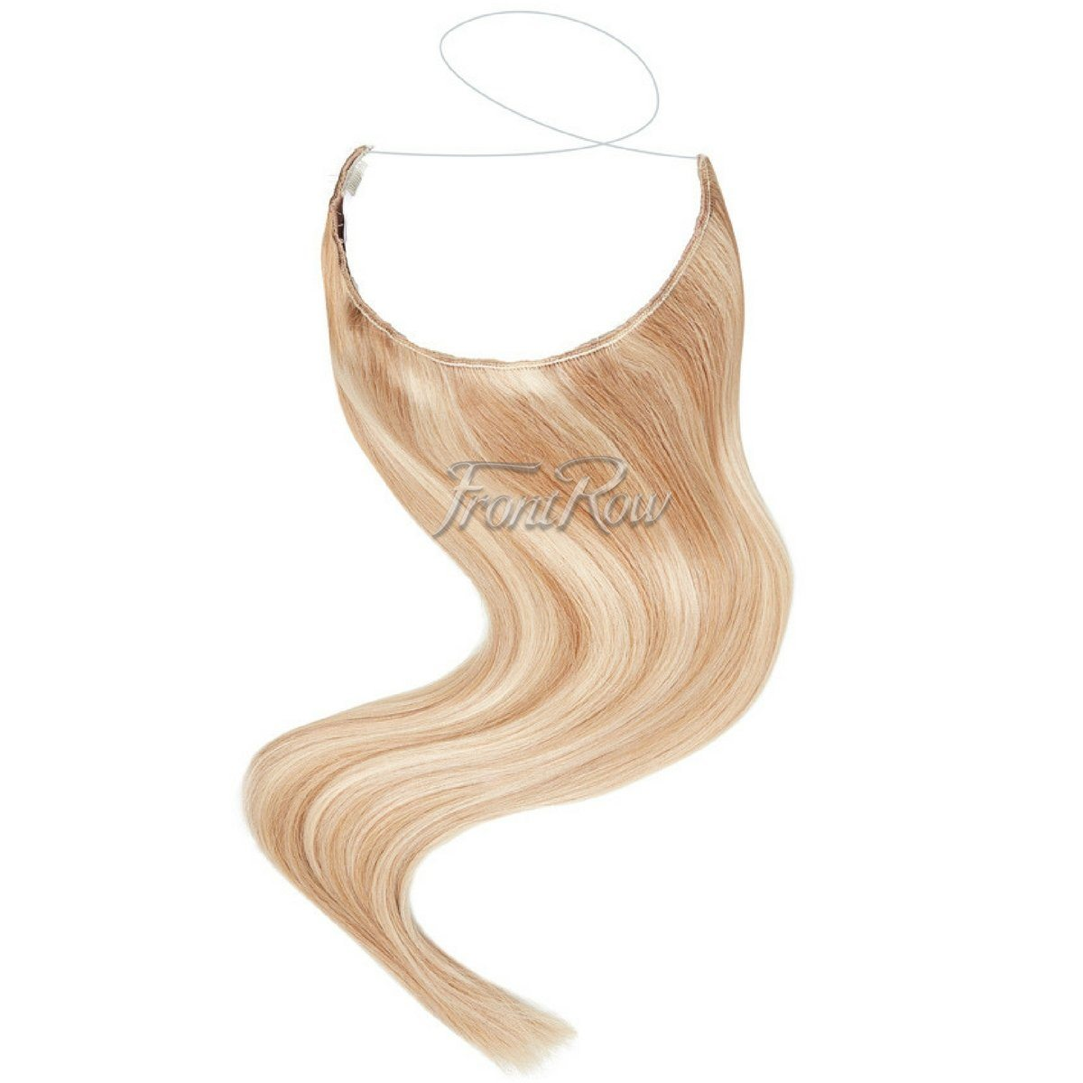 Ready to Mingle 18inch Highlighted Blonde Halo Hair Extensions