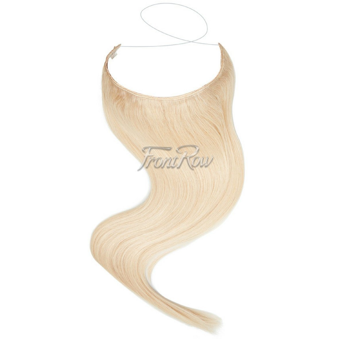 Halo hair extensions in south africa frontrow frontrowza ice ice lady 18inch platinum blonde halo hair extensions baditri Image collections