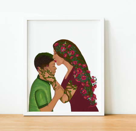 """You are Love"" Art Print"