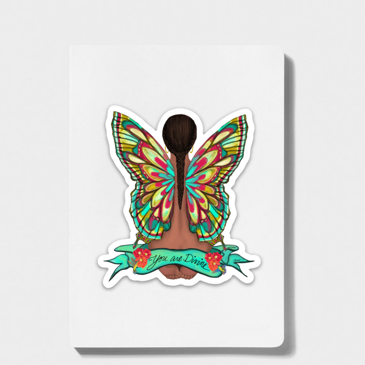 """You are Divine"" Sticker"