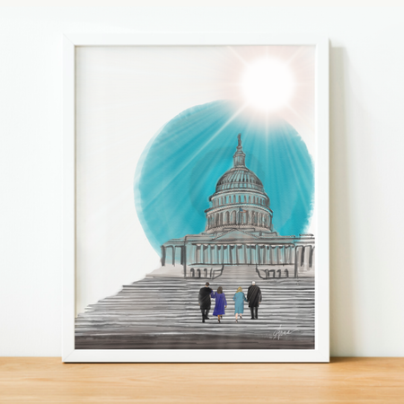 New Dawn, New Day - Art Print