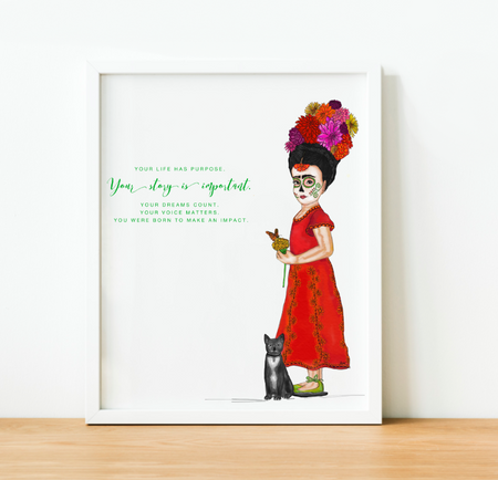 """Your Story is Important"" Art Print"