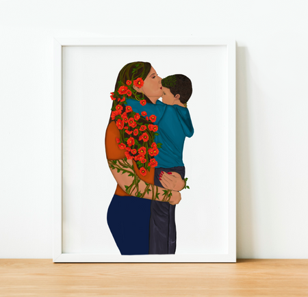 """Forever My Little Boy"" Art Print"