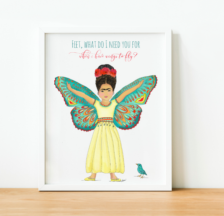 """Wings to Fly"" Art Print"
