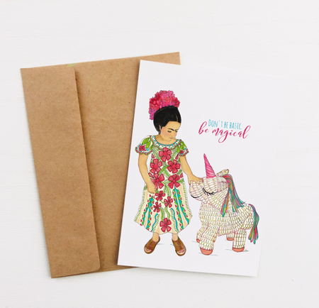 """Be Magical"" Greeting Card"