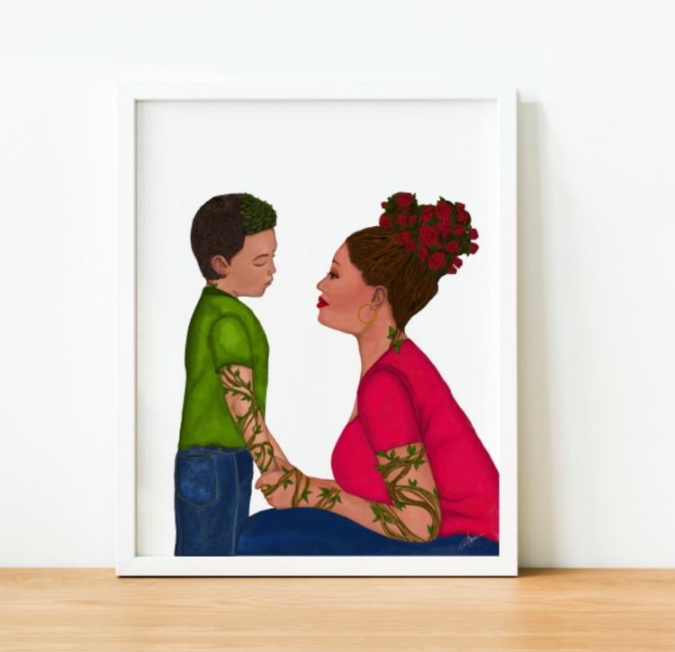 """Rooted in Love"" Art Print"