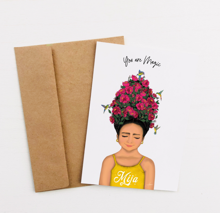 """You Are Magic"" Greeting Card"