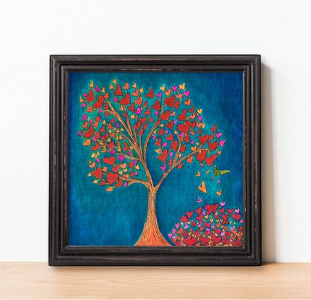 """Tree of Love"" Art Print"