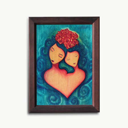 """You and I"" Art Print"