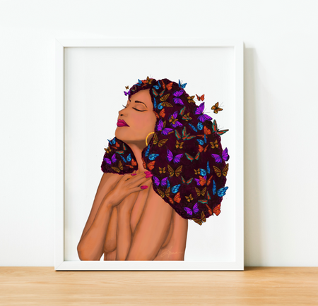 """Grateful Heart"" Art Print"