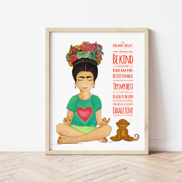 """Be Kind"" Art Print"