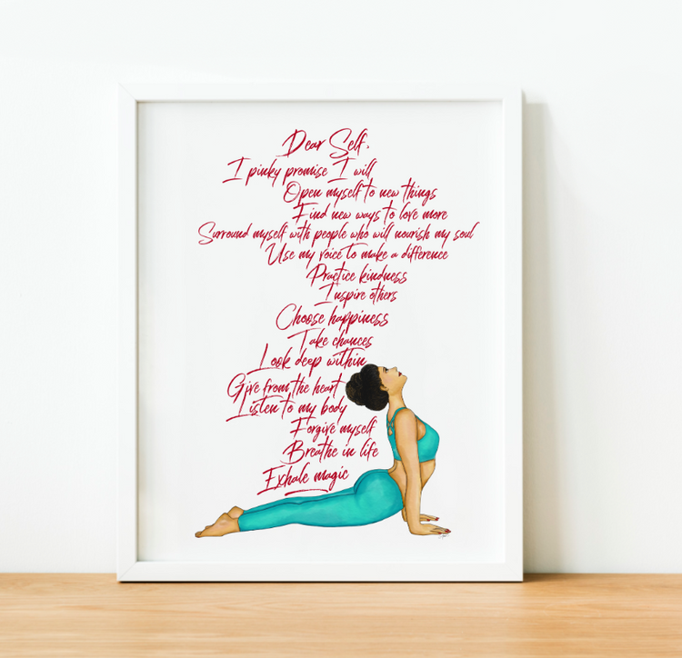 """Exhale Magic"" Art Print"