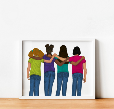 """Sisterhood"" Art Print"