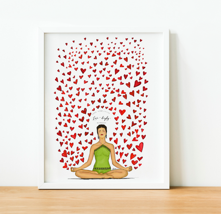 """Love Deeply"" Art Print"