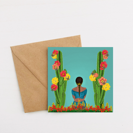 """Beautiful Intentions"" Greeting Card"