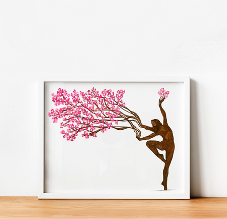 """Rooted in Strength and Beauty"" Art Print 