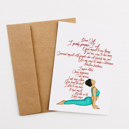 """Exhale Magic"" Greeting Card"