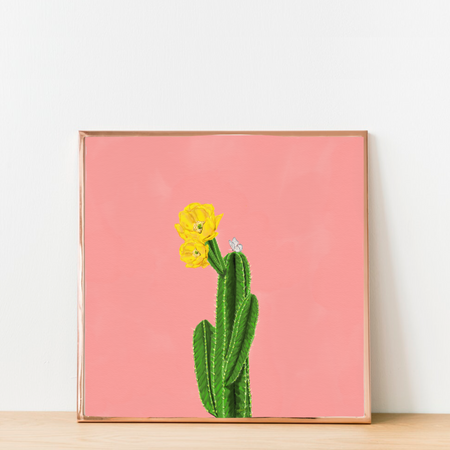 """Always Blooming"" Art Print"