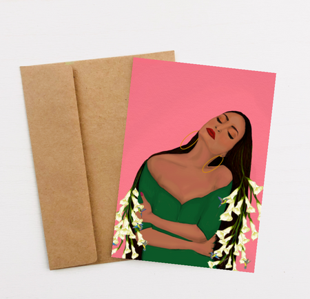 """Self Love"" Greeting Card"