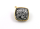 Rutiliated Black Quartz Cushion Bezel,  (BRBZCT001) - Beadspoint