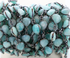 Amazonite Faceted Heart Shape Chain, (BC-AMZ-63)