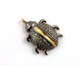 Pave Diamond Beetle Charm,  (DCH-81) - Beadspoint