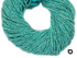 Amazonite Micro Faceted Rondelle Beads, (AMAZONITE-2RNDL)