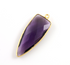 Amethyst  Faceted Arrowhead Bezel, (BZC9050/AM)