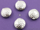Hill Tribe Round Hammered Spacer Bead,  (8196-TH) - Beadspoint