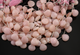 Pink Opal Micro Faceted Tear Drop Heart, (POPL/HT/11) - Beadspoint