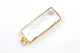 Rock Crystal Long Bar Bezel, (BZC9051/ROCK)