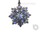 Pave Diamond Rainbow Moonstone Pendant -- DP-1750 - Beadspoint