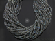 Grey Labradorite Micro Faceted Roundels, (LABMICFrndl) - Beadspoint