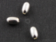 Sterling Silver Smooth Oval Bead ,(SS/2013/4x7) - Beadspoint