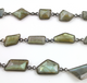 Labradorite Fancy Cut Chain, Fancy Cut Chain , (BC-LAB-34) - Beadspoint