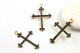 Pave Diamond Cross Pendant, (DCH/CR118) - Beadspoint