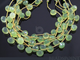 Green Chalcedony Faceted Onion Drops, 4 Pieces (4GCHLC/ONION/10), - Beadspoint