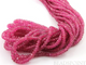 Ruby  Faceted Rondelles , (RBY3.5-5frndl) - Beadspoint