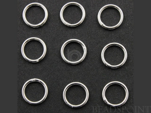 Sterling Silver 16 GA Jump Ring, (SS/JR16/10C) - Beadspoint