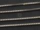 Sterling Silver Finished Box Neck Chain, (BOX024-16) - Beadspoint