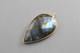 Labradorite Faceted Drop Pendant,  (Lab/PR) - Beadspoint
