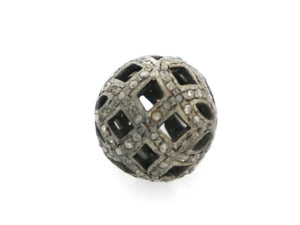 Pave Diamond Bead, (DB-14) - Beadspoint