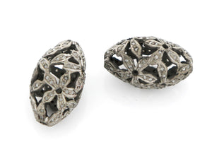 Pave Diamond Bead, (DB-35) - Beadspoint