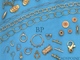 Gold Filled Figure 8 Chain, GF-2614 (40) - Beadspoint